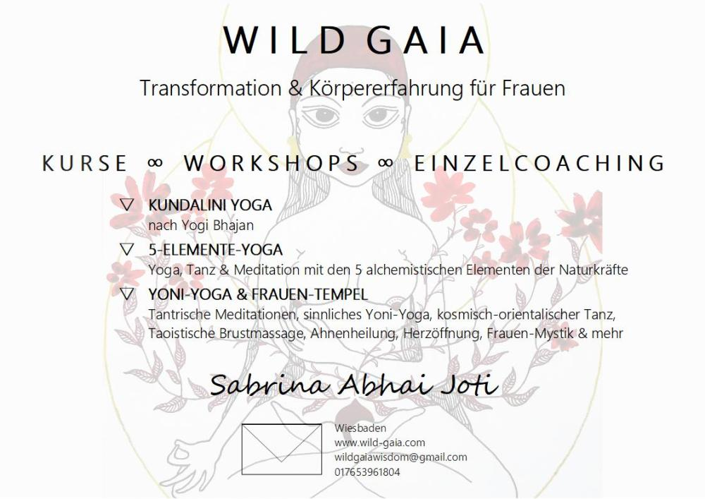 WILD GAIA Flyer